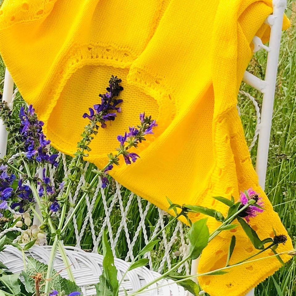 Voglio un golfino giallo @emporiodeifilati