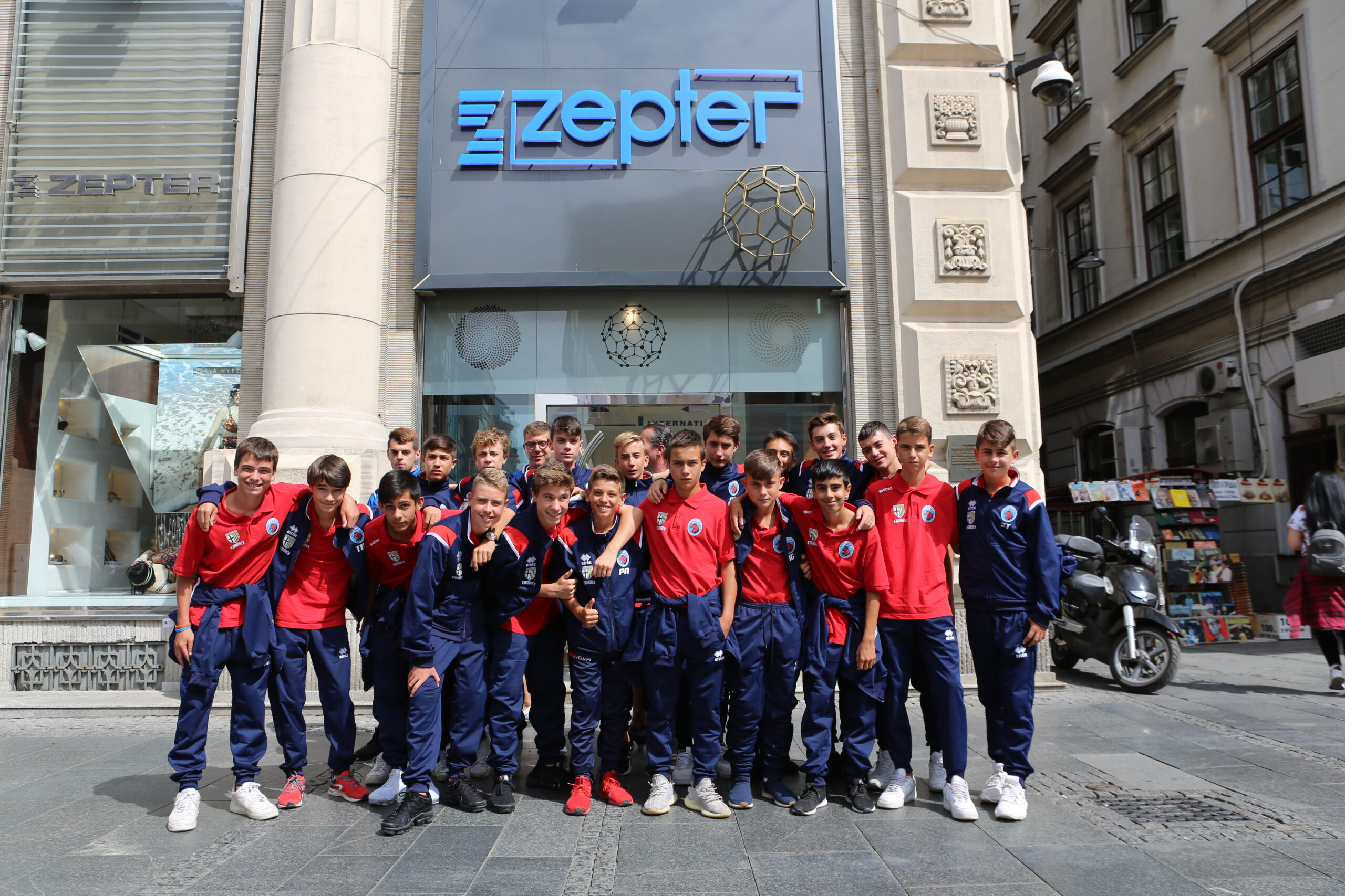 Hotel Zepter in Serbia