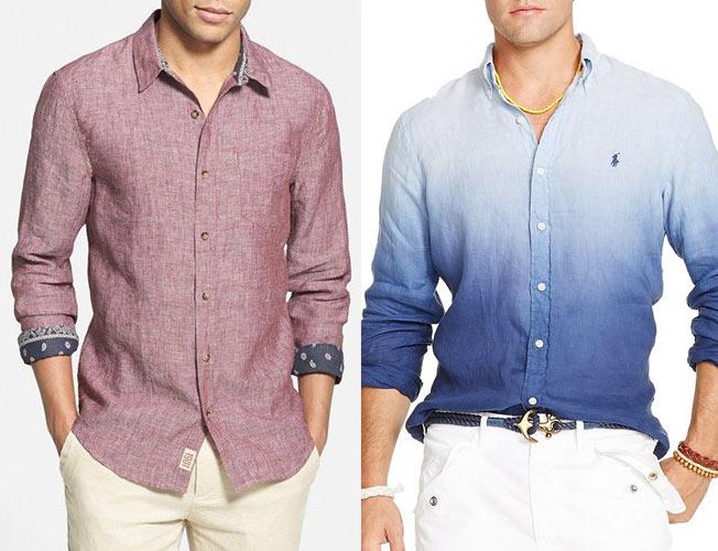 Camicia in lino…